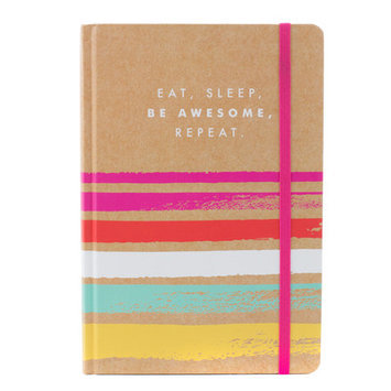 Tricoastal Design Eat, Sleep, Be Awesome Bound Journal