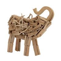 Benzara 76470 Driftwood Elephant