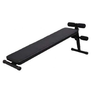 Aosom Deluxe Portable Decline Sit Up Ab Bench