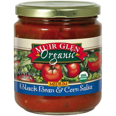 Muir Glen® Organic Medium Black Bean & Corn Salsa 16 oz. Jar