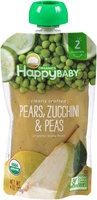 Happy Baby® Organics Pears, Zucchini & Peas 32 oz. Box