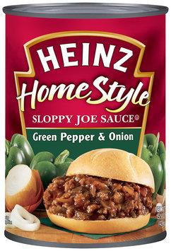 Heinz Sloppy Joe Sauce Green Pepper & Onion 15.5 oz. Can