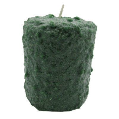 Starhollowcandleco Fire Roasted Pine Cones Pillar Candle Size: Round Cake Fatty 4