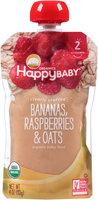 Happy Baby® Organics Bananas, Raspberries & Oats 4 oz. Pouch