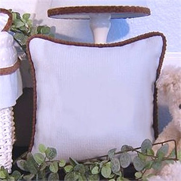 Brandee Danielle Blue Chocolate Pillow