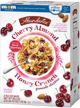 Abundance® Cherry Almond Honey Crunch Granola Clusters 2-18.0 oz. Bags