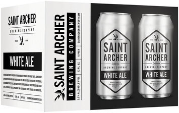 Saint Archer Brewing Company White Ale Beer 6-12 fl. oz. Cans