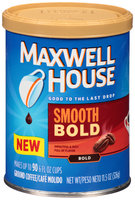 Maxwell House Smooth Bold Ground Coffee 11.5 oz. Canister
