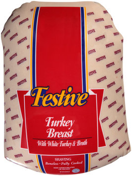 Festive Turkey Breast with White Turkey & Broth
