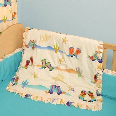 Room Magic 4 Piece Crib Set - Cowboy