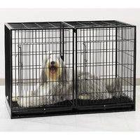Proselect Pet Pals ZW52052 Modular Cage Base X-Tall with Plastic Tray S