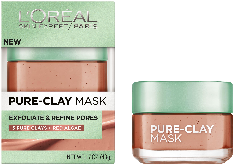 L'Oréal Paris Exfoliate & Refine Pores Pure-Clay Mask