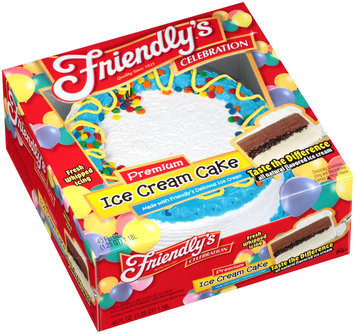 Friendly's® Celebration Premium Ice Cream Cake 40 fl. oz. Box