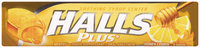 Halls Plus® Honey Lemon Cough Suppressant/Oral Anesthetic Menthol Drops 9 ct Pack