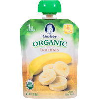 Gerber Organic 1st Foods Bananas Baby Food 3.17 oz. Pouch