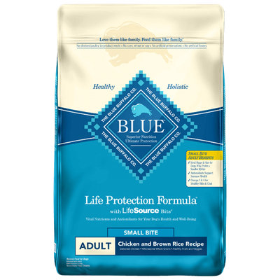 THE BLUE BUFFALO CO. BLUE™ Life Protection Formula® Small Bite Chicken and Brown Rice For Adult Dogs