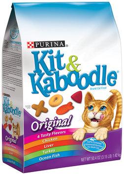 Purina Kit & Kaboodle Original Cat Food 3.15 lb. Bag
