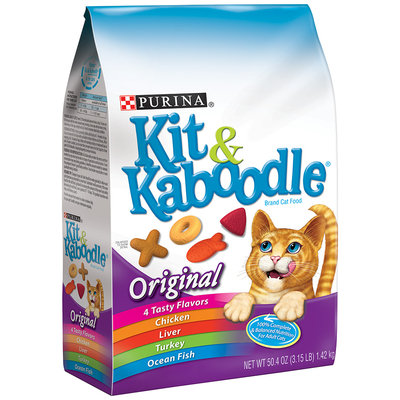 Purina Kit & Kaboodle Original Cat Food 3.15 lb. Bag