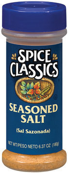 Spice Classics  Seasoned Salt 6.37 Oz Shaker