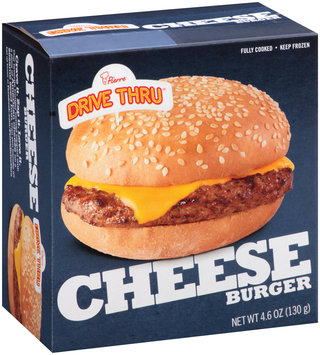 Pierre™ Drive Thru™ Cheeseburger 4.6 oz. Box