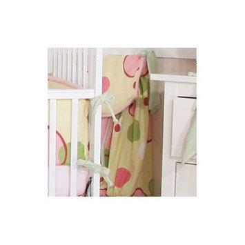 Brandee Danielle Minky Bubbles Diaper Stacker Color: Pink