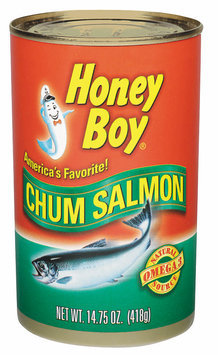Honey Boy  Chum Salmon 14.75 Oz Can
