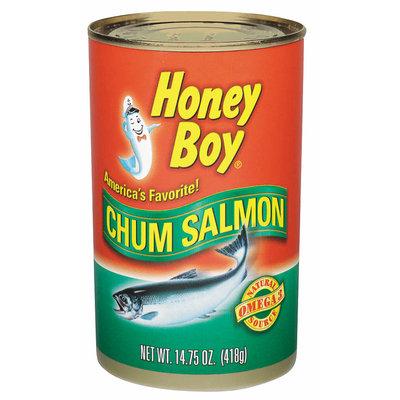 Honey Boy  Chum Salmon 14.75 Oz Can