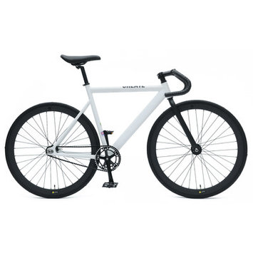 Ideacycle C8 Aero Fixed Gear Road Bike Size: 48cm, Color: White