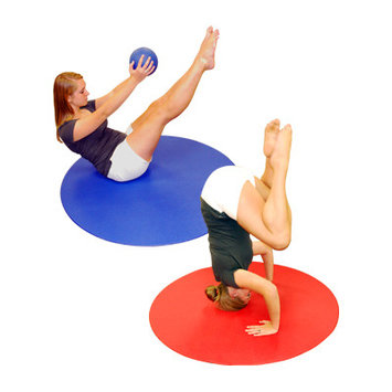 YogaDirect Ultra 4 Foot Circular Aerobics Mat