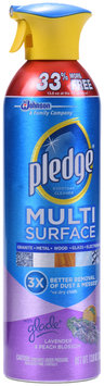 Pledge® Glade® Lavender & Peach Blossom Multi-Surface Cleaner 13.8 oz. Aerosol Can