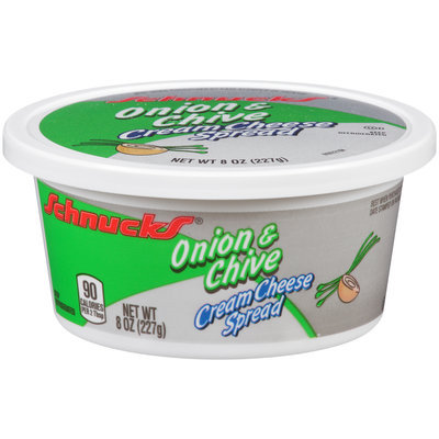 Schnucks® Onion & Chive Cream Cheese Spread 8 oz. Tub