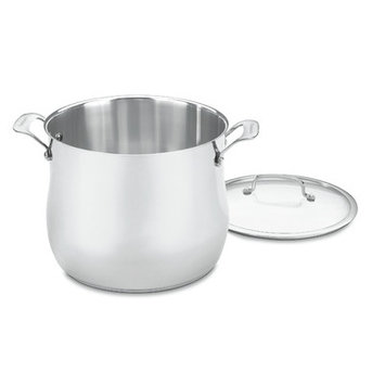 Cuisinart Contour Stainless 12 qt. Stockpot with Cover 466-26