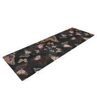 Kess Inhouse Galactic Butterfly by Nikki Strange Yoga Mat