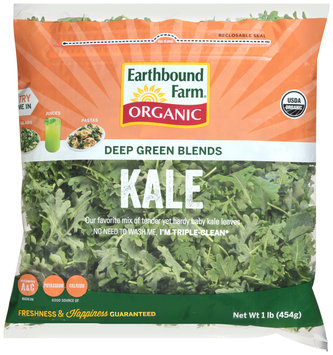 Earthbound Farm® Organic Kale Deep Green Blends 1 lb. Bag