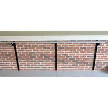 Vitavibe Wall Barre Series Modern Aluminum Adjustable Height Ballet Barre Kit Size: 5 ft.