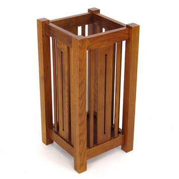 Wayborn Furniture 9074 Oak Umbrella Stand