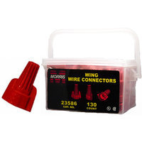 Morris Products Twisted Wing Handy Pack Connectors in Red