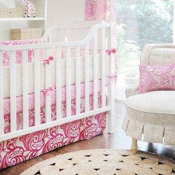 New Arrivals French Quarter 3 Piece Crib Bedding Set