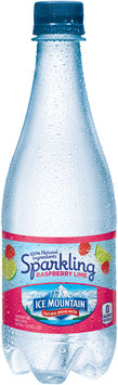 Ice Mountain Raspberry Lime Essence Sparkling Natural Spring Water 33.8 fl. oz. Bottle