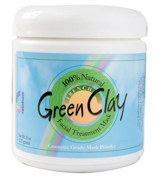 rainbow® French Green Clay Facial Mask Powder