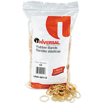 Universal Office Products Rubber Bands Universal Boxed, Size 12