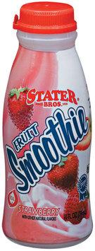 Stater Bros. Strawberry Fruit Smoothie 10 Fl Oz Plastic Bottle