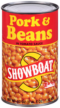 Showboat® Pork & Beans in Tomato Sauce 53 oz. Can