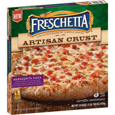 Freschetta® Artisan Crust Margherita Pizza 23.65 oz. Box