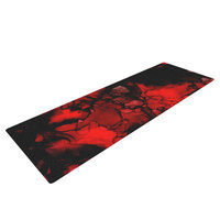 Kess Inhouse Vesuvius by Claire Day Yoga Mat