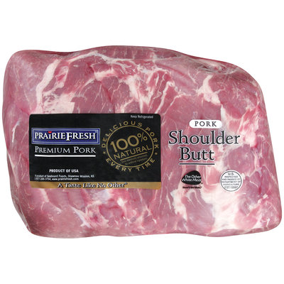 PrairieFresh® Natural Center Cut Pork Shoulder Butt 2-Pack