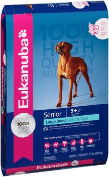 Eukanuba® Senior Large Breed Dog Food 15 lb. Bag