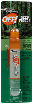 Off!® Deep Woods® Insect Repellent 0.5 fl. oz. Spray Bottle