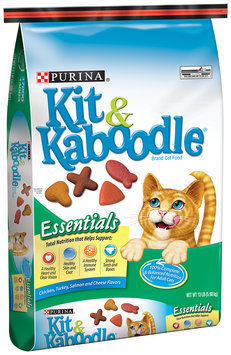 Purina Kit & Kaboodle Essentials Cat Food 13 lb. Bag