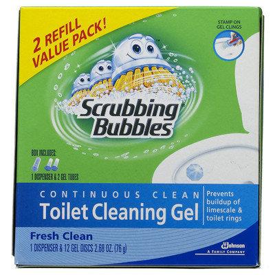 Scrubbing Bubbles 70400 Continuous Clean Toilet Cleaning Gel